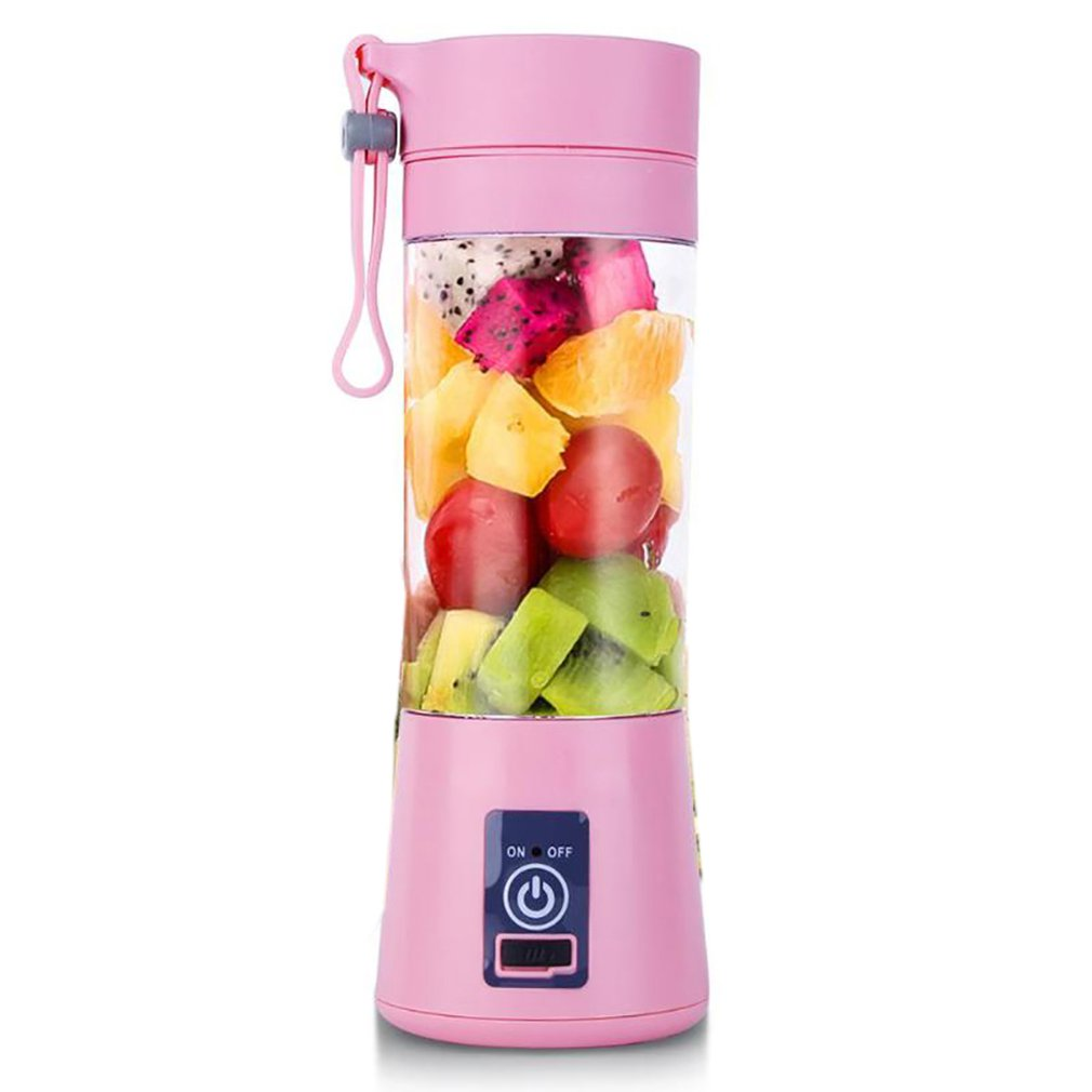 Electric Juice Cup Juice Cup Rechargeable Household Small Cyclone Portable Mini Fruit Juice Portable Juicer