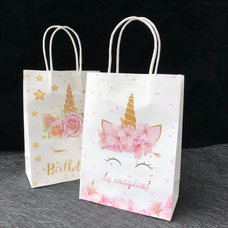 toy storage bag shopping bag market bag gift for her gift for girl Unicorn tote bag unicorn design unicorn shoulder bag gift bag