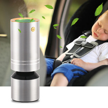 цена на Mini Car Air Purifier Portable Negative Ion Purifiers USB Air Purifier Anion Air Cleaner Freshener for Car Office Home