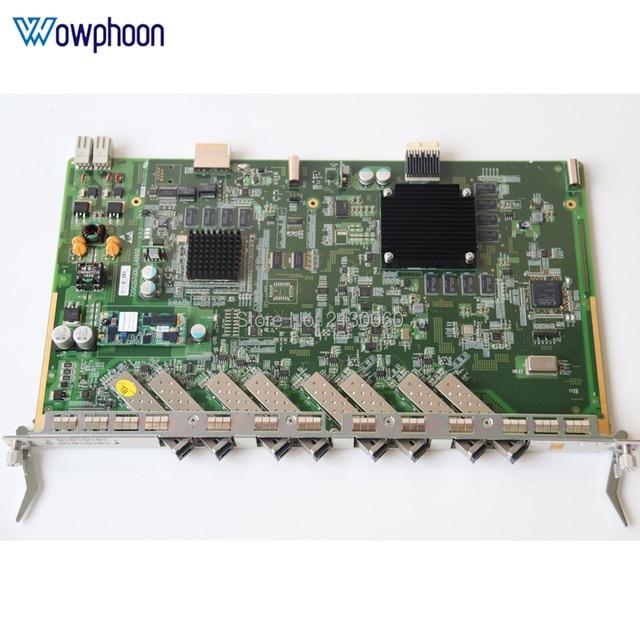 Original ZTE GTGO 8 ports service board with 8pcs B+ C+ C++ SFP Modules for ZTE ZXA10 GPON OLT C300 C320 GTGO business board