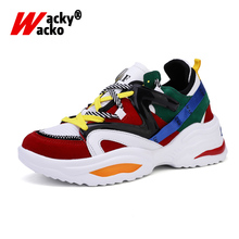 Women Casual Shoes Summer Height Platform Fashion Sneakers Lace-Up Lover Shoes For Woman New Female Walking Shoes Zapatos Mujer new 2018 autumn women casual shoes platform lace up flats woman breathable white sneakers walking students shoes zapatos mujer