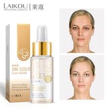 LAIKOU 24K GOLD Snail Serum Snail Essence Face Cream Moisturizing Acne Treatment Skin Care Repair Whitening AntiAnging Winkles