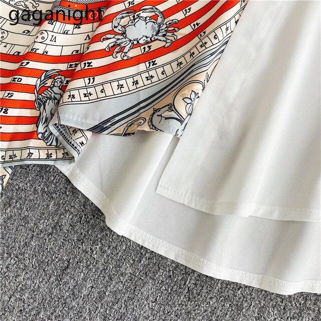 Gaganight Fashion Women Blouse Long Sleeve Irregular Elegant Office Lady Shirt Chic Casual Loose Blusas Spring Autumn New Shirts 6