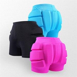Image 5 - สเก็ตน้ำแข็งสเก็ตสะโพก Protector Pad กีฬาความปลอดภัย Supporter ป้องกันสกี Impact กางเกงขาสั้นสวมใส่