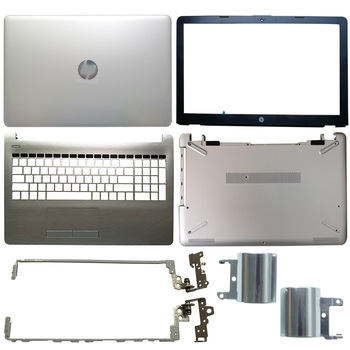 NEW Laptop LCD Back Cover/Front Bezel/LCD Hinges/Hinges Cover/Palmrest/Bottom Case For HP 15-BS 15-BW Series Silver 924892-001 new for msi ge73 ge73vr 7rf 006cn laptop lcd back cover front bezel hinges hinges cover palmrest bottom case 3077c1a213hg017