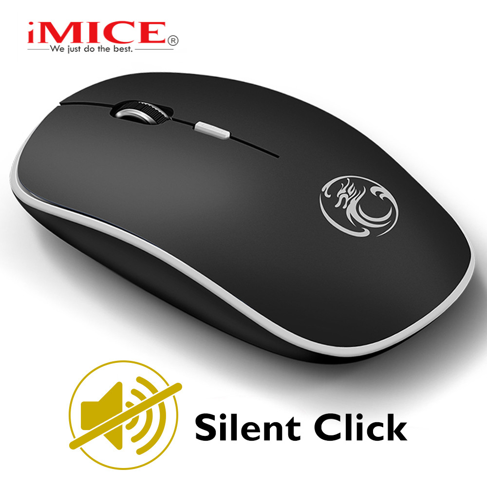 Silent Wireless Mouse Computer Mouse Wireless Gaming Mouse Ergonomic Mause Gamer Optical USB Silent Mice For PC Laptop Noiseless