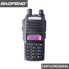 100% Baofeng UV 82 Walkie Talkie Dual Band Ham Radio Intercom UV82 Twee Manier Radio Vhf Uhf Draagbare Jacht Hf Transceiver uv 82