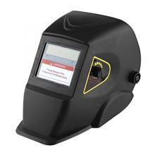 Solar Powered Auto Darkening Welding Mask Helmet Mask Protect Head Neck Ears Welding