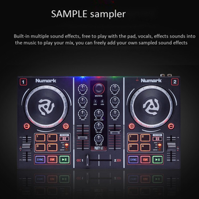 Professional Beginners DJ Controller 1