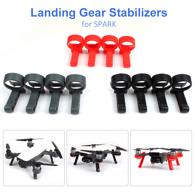 DJI Spark Landing Gear Stabilizers Tripod For DJI Spark Fast Installation Quick Release Drone Gimbal Protective Accessories