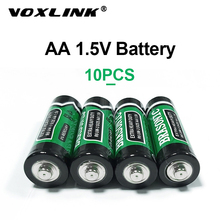 VOXLINK 10PCS AA Battery 1.5V LR6 AM3 E91 MN1500 Carbon Dry Battery Primary Battery For MP3 camera flash razor electric toy 2a sale 4 10pcs 1 5v lithium aa battery 3000mah lr6 am3 2a lifes2 cell dry primary battery for camera and toys electric shaver