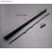 Saco brincalhão ao ar livre cs aka m870 tubo exterior competitivo r1 tubo de extensão gel bola arma acessórios jinming p1 m4 cs brinquedos diy qg21