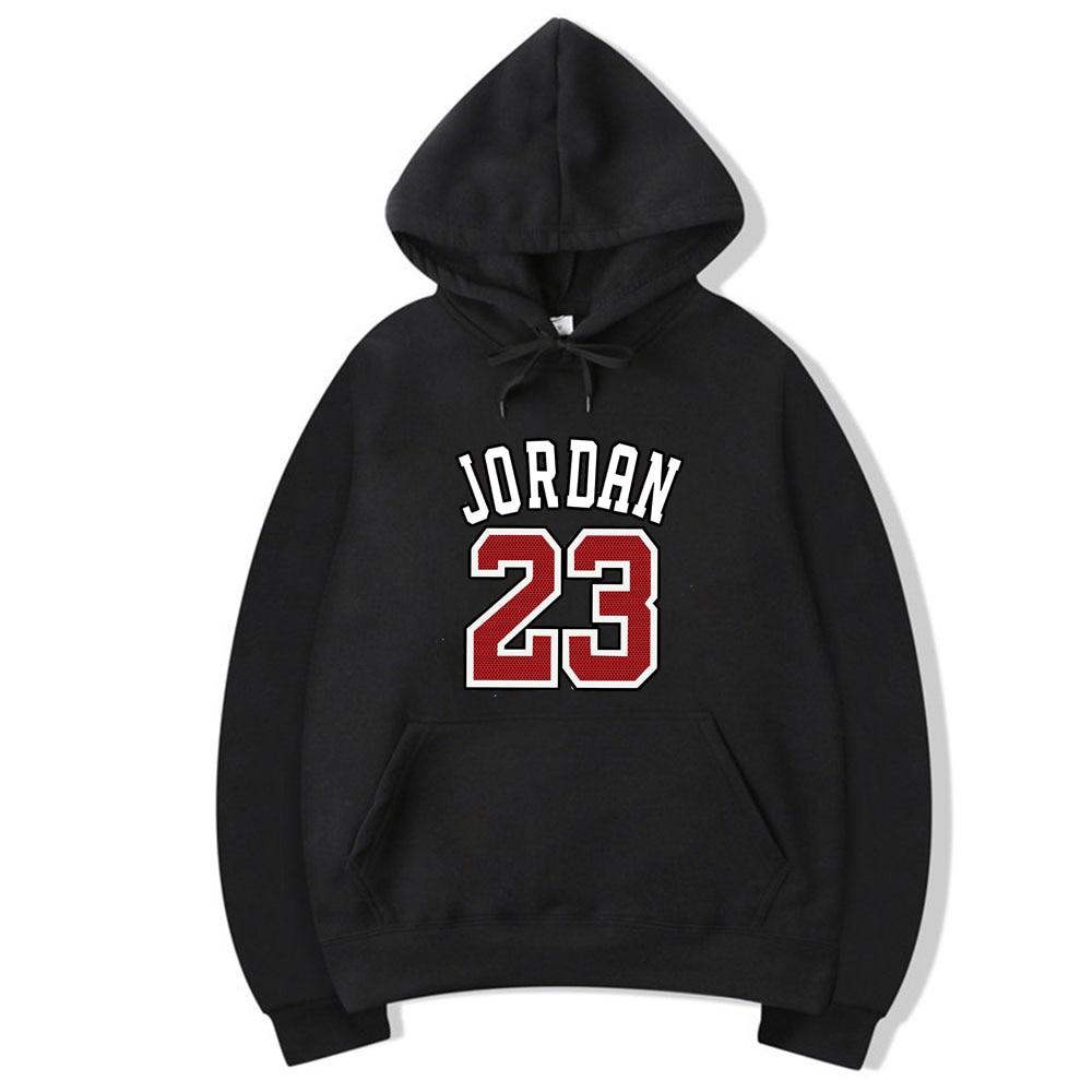 2019 New JORDAN 23 Brand Male Hip Hop Long Sleeve Hooded Sweatshirt Mens Hoodie Fleece Sweat Coat Casual Sportswear Hoodies