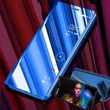 mirror flip case for xiaomi mi 9t 9 8 se a2 a3 lite 6 play m
