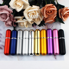 Spray-Bottle Perfume-Atomizer Empty-Cosmetic-Containers Portable Refillable Travel Aluminum