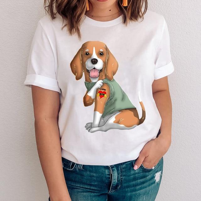 I Love Mom - Women's T-Shirt With Logo  4