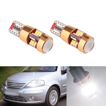 2x Canbus LED T10 W5W Clearance Parking Light Wedge Light For Citroen C4 C5 C3 Grand Picasso Berlingo Xsara Saxo C1 C2 ds3 image