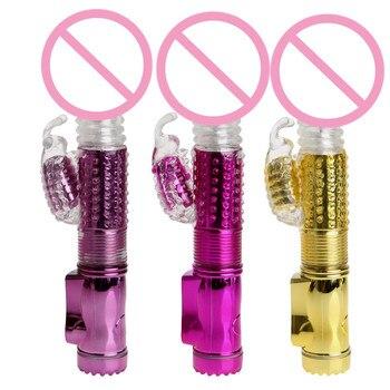 Vibrador vibrador a prueba de agua para mujer vibrador G-spot consolador multivelocidad mujer adulto juguete sexual para mujer