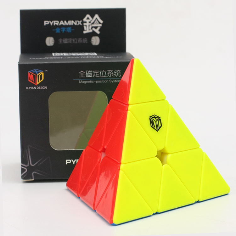 XMD Mofangge X-man Bell Magnetic Jinzita Magic Cube Qiyi Triangle Cubes Speed Puzzle Educational Toys For Children Cubo Magico