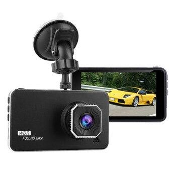 Driving Recorder 4.0 Inch Dashcam Full HD 1920x1080 Car Monitoring Parking Track Offset Recorder Dvr Camera Auto   Dual Dash Cam