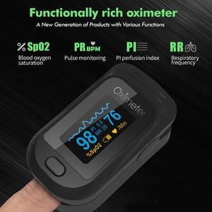 Image 5 - Медицинский Oled Пульсоксиметр SPO2 медицинский портативный кислород для крови с пульсоксиметром дыхания подходит для семьи