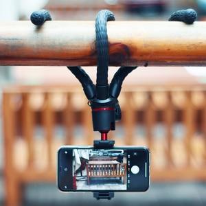 Image 5 - MT 11 الأخطبوط ترايبود ل DSLR كاميرا الهاتف الذكي ماجيك الذراع ث انفصال Ballhead الحذاء الساخن الهاتف كليب