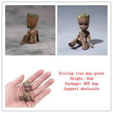 Фигурка из винила «Галактика гвард 2» сидящее маленькое дерево