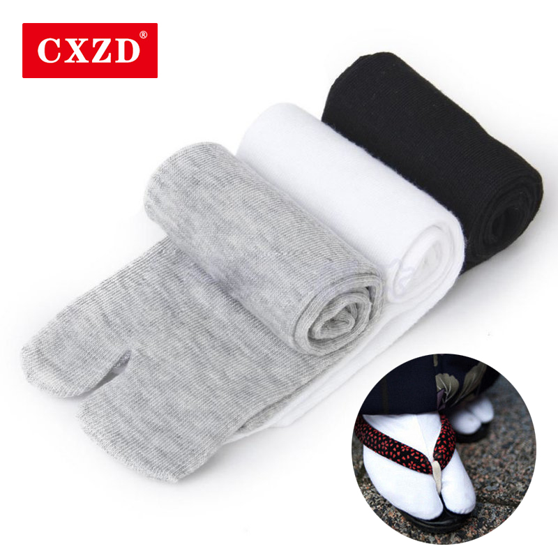 CXZD High Quality 1 Pair Women/Men Unisex Japanese Unisex Kimono Flip Flop Sandal Split Two Toe Sock
