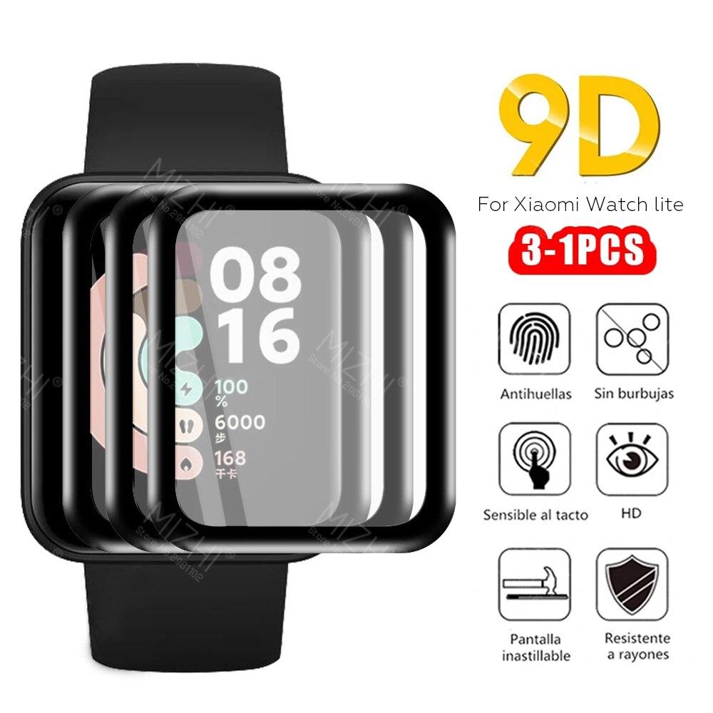 9D закаленное стекло для Xiaomi Mi Watch Lite Смарт-часы для Xiaomi Xiomi Xaomi Watch Lite Milite Защитная пленка для экрана