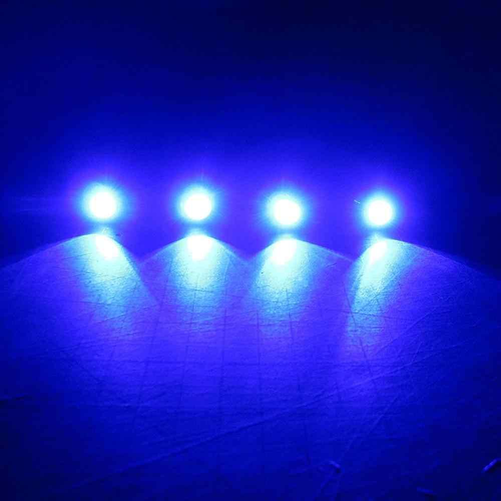 4X LED Lampu Kapal Perak Tahan Air Bawah Air untuk RXP-X 260 Amfibi Quadski SeaDoo RXT-X SeaDoo GTX Waverunner PWC