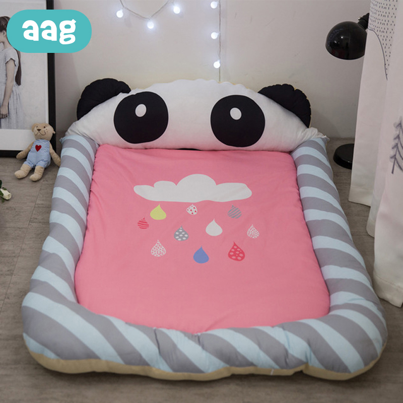 AAG Baby Bed Crib Babynest Cot Cradle Pipe Cartoon The Toys Kids Rug Children's Carpet To The Nursery Baby Developing Play Mat