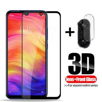 2 в 1 Защитное стекло для объектива камеры xiaomi redmi note 7 Защита для экрана xaomi red mi note 6 pro 4 4x 6a 5 plus s2 закаленное стекло
