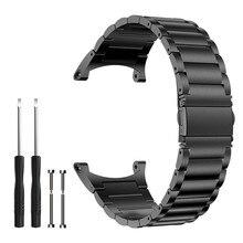 Paslanmaz çelik kayış Suunto çekirdek için yüksek kaliteli yedek Metal bilek Watchband bilezik Suunto çekirdek için izle aksesuarları
