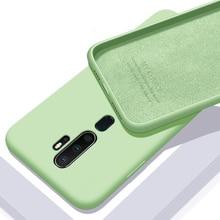 For OPPO A9 2020 Case Soft Liquid Silico