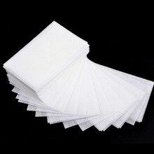 1 упаковка для снятия лака для ногтей салфетки для ногтей для ванны маникюрные гелевые безворсовые салфетки хлопковые салфетки инструмент для маникюра