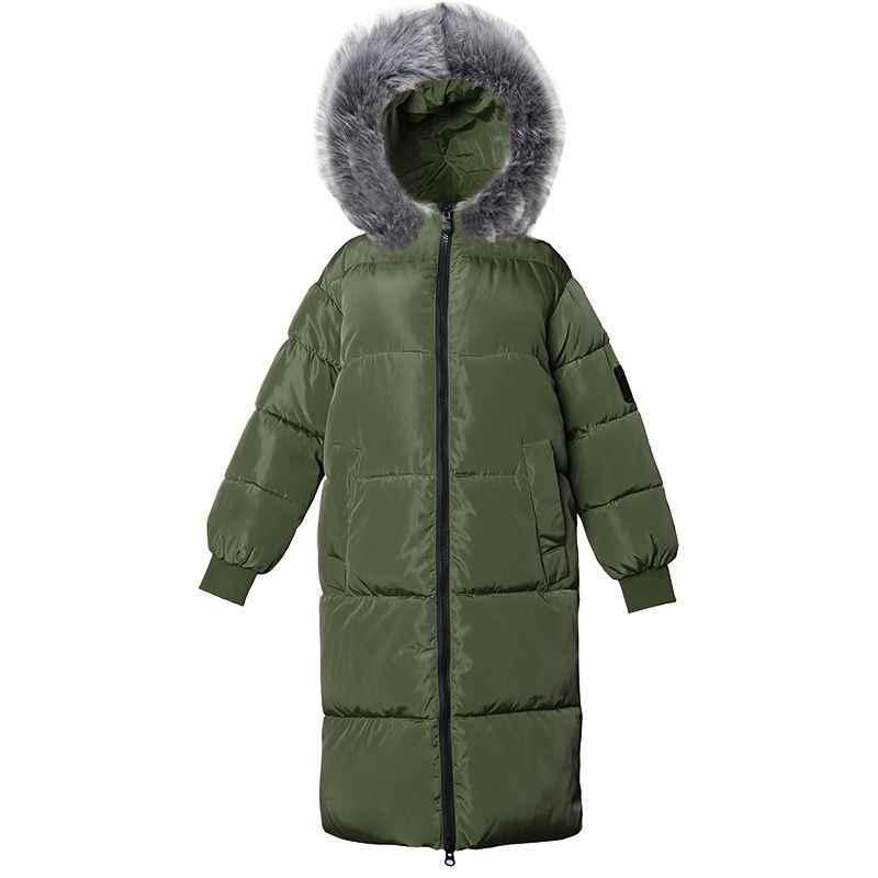 Big FUR 2020 Parkas ใหม่หญิงฤดูหนาวผู้หญิง PLUS ขนาด 7XL ฤดูหนาวเสื้อสำหรับสตรี Outwear Parkas ผู้หญิงฤดูหนาวลงเสื้อ