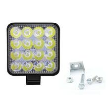 цена на 48W LED Car Work Light Flood Spot Driving Lamp for Truck Trailer SUV Off Road Boat 12V 24V 4WD Car Led Driving Light Work Lamp