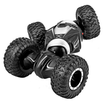 Remote Control Double Sided Stunt Car Twist Desert Cars Off Road Buggy High Speed Climbing RC Strikeauto Toy for Kids Children