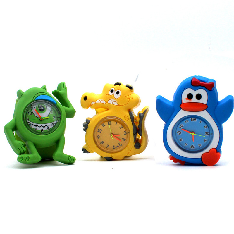 Children's 3D Cartoon Kids Watch Children Baby Toy Clock For Girls Boys Gifts Watch For Kids Children