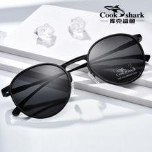 Lunettes de soleil Cookshark, polarisées, rétro, à la mode, pour la conduite, pour hommes et femmes
