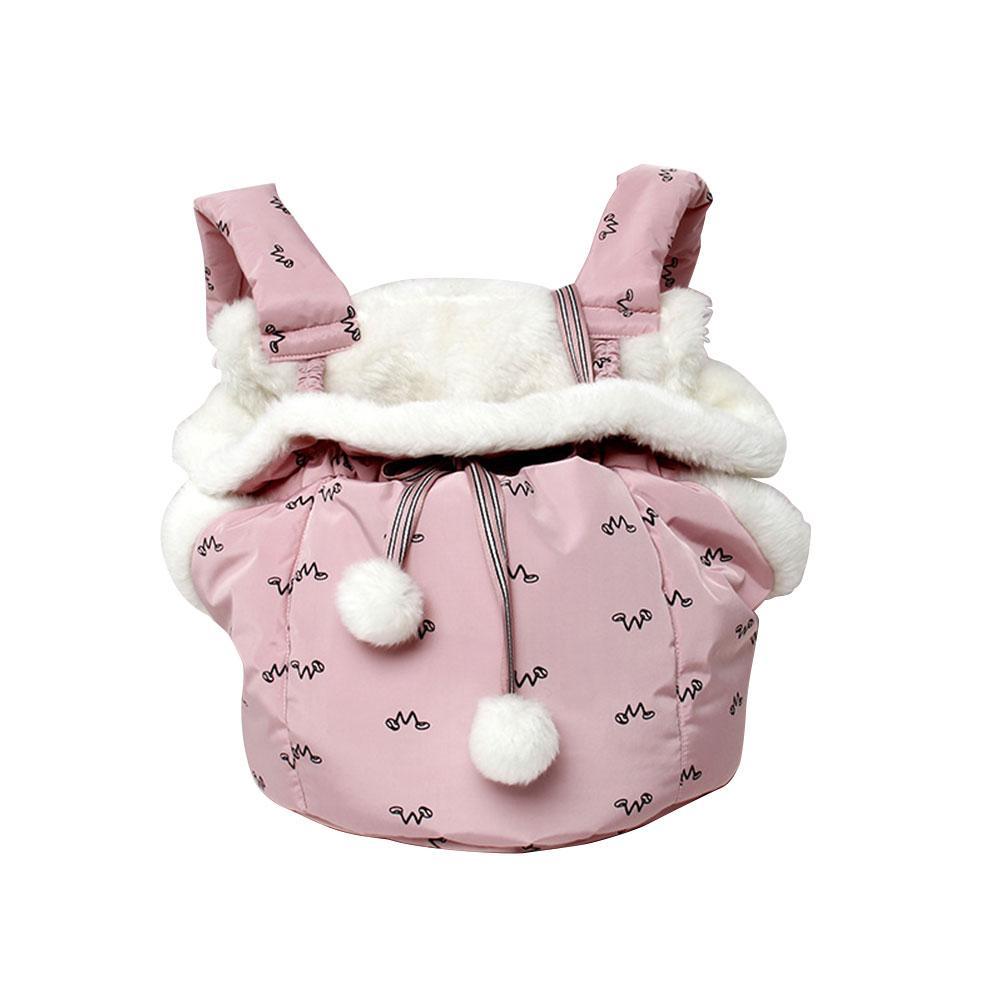 Sac de transport pour animaux de compagnie pour chat confortable doux chiot chat chien sacs sac à dos épaississement chaud en plein air voyage sac de transport pour animaux de compagnie fournitures pour animaux de compagnie