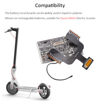 2PCS Scooter Battery Circuit Board for Xiaomi M365 Electric Scooter Accessories BMS Circuit Board Board Dashboard Controller Set Scooter Parts & Accessories     -