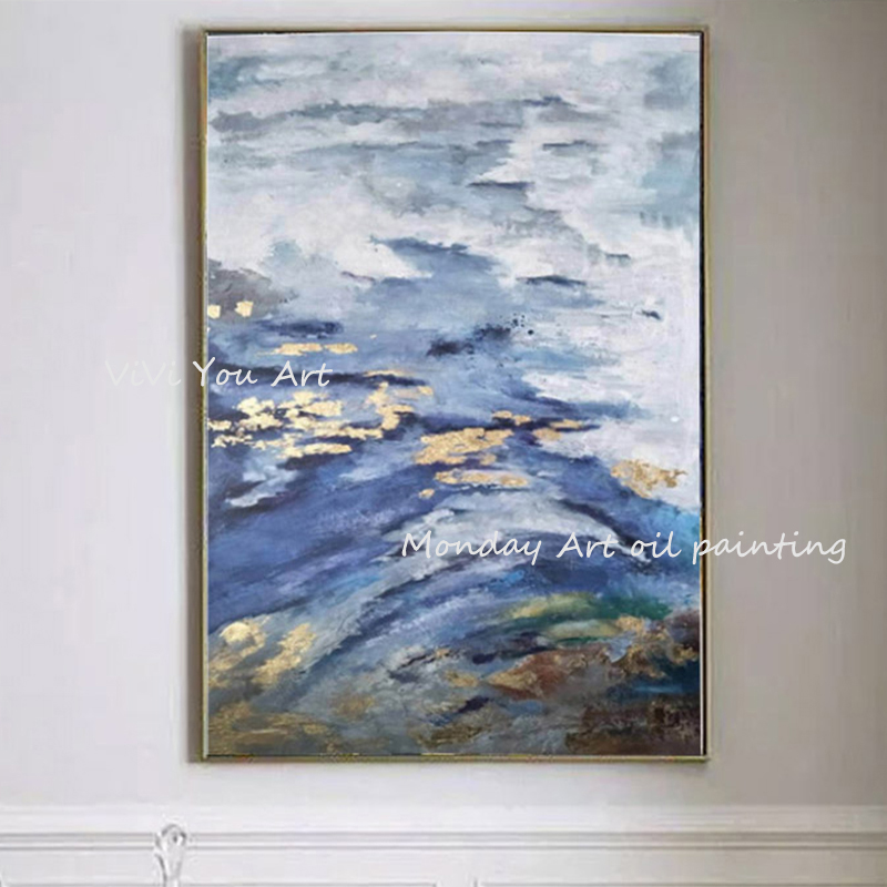 100-Hand-Painted-Abstract-Golden-Scenery-Painting-On-Canvas-Wall-Art-Wall-Adornment-Pictures-Painting-For (3)
