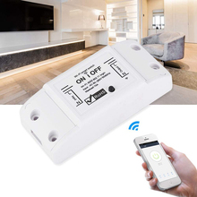 Smart Wifi Switch Wireless Smart Light Switch Universal DIY Module 10A WiFi Remote Control With Timer Alexa & Google D30 sonoff smart wifi remote control diy wireless switch universal module dc5v 12v 32v self locking wifi switch timer for smart home