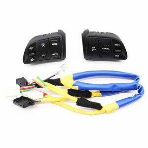 Image 4 - Pulsanti di controllo della velocità Audio del volante multifunzione PUFEITE per Kia sportage con retroilluminazione Car charge car styling