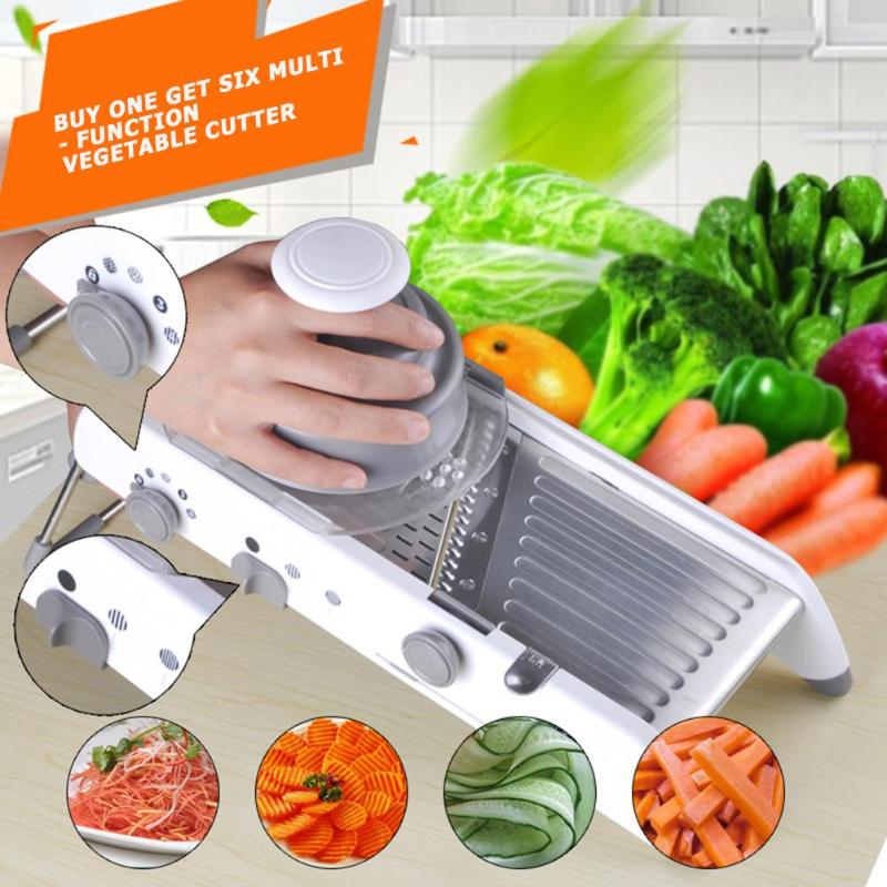 Dropshipping Vegetable Fruits Slicer Stainless Steel Manual Vegetable Fruit Potato Cutter Chopper Kitchen Tools Baby Food Mills