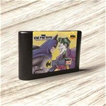 باتمانيد الانتقام من الجوكر الولايات المتحدة الأمريكية تسمية الفلاش كيت MD الكهربائية الذهب ثنائي الفينيل متعدد الكلور بطاقة ل Sega نشأة Megadrive لعبة فيديو وحدة التحكم