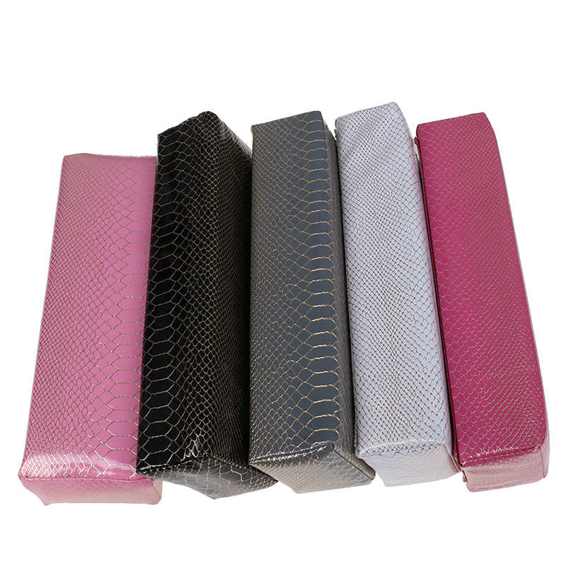 Nail Art Design PU Leather Hand Arm Rest Cushion Pillow Manicure Care Soft Nail Salon Polish Hand Holder Manicure Table