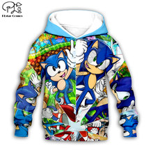 Kinder Set Super Sonic 3d Hoodies familie anzug t-shirt zipper Pullover Kind Cartoon Anzug Anime Sweatshirt Trainingsanzug/hose shorts 14(China)