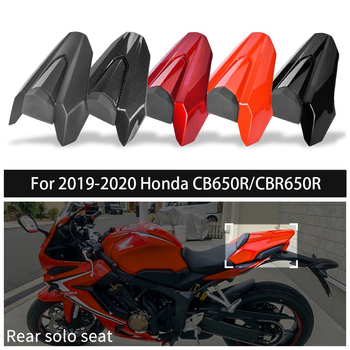 CB650R CBR650R Rear Seat Cover For 2019 2020 Honda CBR CB 650R Passenger Seat Cowl Hump Tail Fairing Motorcycle Accessories